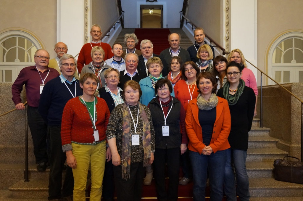 Besuchergruppe aus dem Kreis Traunstein