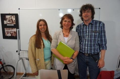 v.l.: Antje Wagner, Gisela Sengl, Martin Wagner