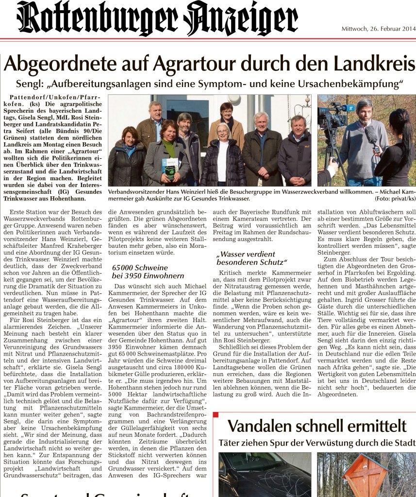 140226_Landshuter-Zeitung_Tour-mit-Rosi-Steinberger