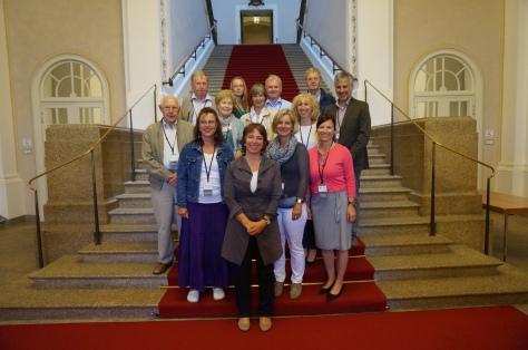 Besuchergruppe im Landtag am 26. Juni 2014