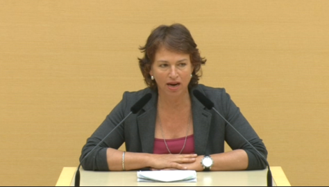 Gisela Sengl, Rede im Bayerischen Landtag am 16.7.2014