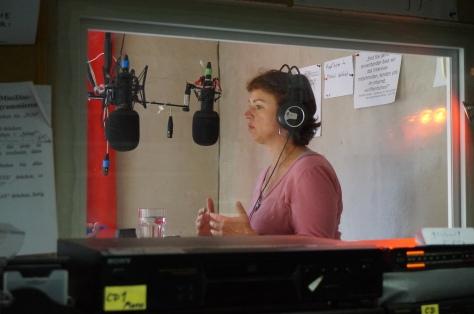 Gisela Sengl, MdL, im Interview mit Radio Lora München